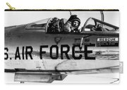 Chuck Yeager, Usaf Officer And Test Carry-all Pouch