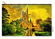 Cinderella Castle - Van Gogh Style Carry-all Pouch