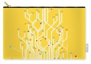 Circuit Board Graphic Carry-all Pouch by Setsiri Silapasuwanchai