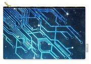 Circuit Board Technology Carry-all Pouch by Setsiri Silapasuwanchai