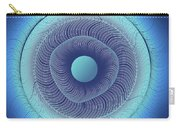 Circular Abstract Art Carry-all Pouch