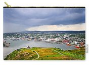 Cityscape Of Saint John's From Signal Hill Carry-all Pouch