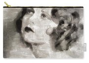 Clara Bow Vintage Hollywood Actress Carry-all Pouch