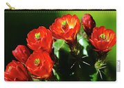 Claret Cup Cactus Carry-all Pouch