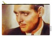 Clark Gable, Vintage Hollywood Actor Carry-all Pouch