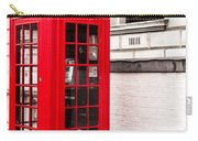 Classic Red London Telephone Box Carry-all Pouch