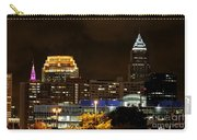 Colorful Sky Above The City On The Shore Carry-all Pouch
