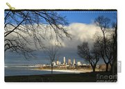 Cleveland Winter Dawn Carry-all Pouch