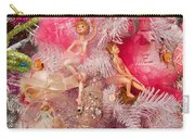 Close-up Of Toys On Christmas Tree Carry-all Pouch