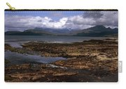 Cloud Passing Across The Cuillin Main Ridge And Bla Bheinn From Tokavaig Sleat Isle Of Skye Scotland Carry-all Pouch