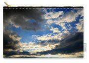 Clouded Sun Rays Carry-all Pouch