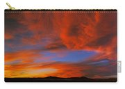 Clouds In The Sky At Sunset, Taos, Taos Carry-all Pouch