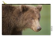 Coastal Brown Bear Carry-all Pouch