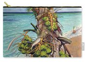 Coconuts On Beach Carry-all Pouch