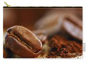Coffee Beans And Ground Coffee Carry-all Pouch