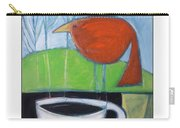 Coffee With Red Bird Carry-all Pouch