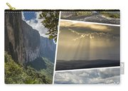 Collage Of Table Mountain Roraima Carry-all Pouch