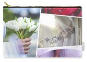 Collage Of Wedding Time Sensational Carry-all Pouch