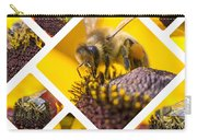 Collage Of Western Honey Bee Carry-all Pouch