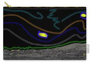 Collage Tombstone Arizona 1882 Vincent Van Gogh Starry Night Sky 1887-2008 Carry-all Pouch