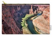 Colorado River Flows Around Horseshoe Bend  Carry-all Pouch