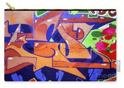 Colorful Abstract Street Art  Carry-all Pouch