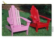 colorful Adirondack chairs Carry-all Pouch