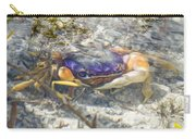 Colorful Crabstract 2 Carry-all Pouch