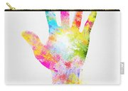 Colorful Painting Of Hand Carry-all Pouch