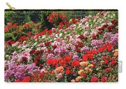 Colorful Spring Rose Garden Carry-all Pouch