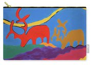 Colorful Street Art Carry-all Pouch