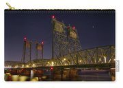 Columbia Crossing I-5 Interstate Bridge At Night Carry-all Pouch
