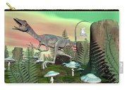 Compsognathus Dinosaur - 3d Render Carry-all Pouch