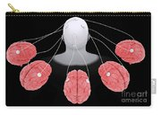 Conceptual Image Of Multi-brain Carry-all Pouch