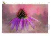 Coneflower Painted Carry-all Pouch