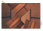 Copper Plate Abstract Carry-all Pouch