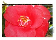 Coral Camellia At Pilgrim Place In Claremont-california  Carry-all Pouch