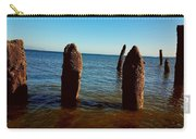 Costal Pilings  Carry-all Pouch