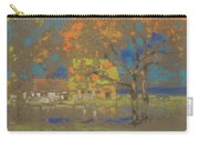 Cottage Amongst The Trees Carry-all Pouch
