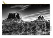 Courthouse Butte And Bell Rock Sedona Arizona Carry-all Pouch