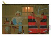 Cowboy On Porch Carry-all Pouch