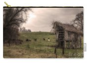 Cows In A Field By A Barn Carry-all Pouch