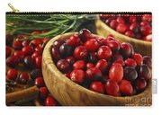 Cranberries In Bowls Carry-all Pouch