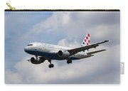 Croatia Airlines Airbus A319 Carry-all Pouch