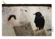 Cross With Crow Carry-all Pouch