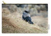 Crow In The Gras Carry-all Pouch