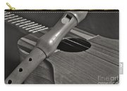 Cuatro Guitar And Flute Carry-all Pouch