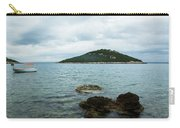 Cunski Beach And Coastline, Losinj Island, Croatia Carry-all Pouch