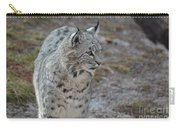 Curious Wandering Bobcat Carry-all Pouch