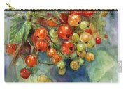 Currants Berries Painting Carry-all Pouch by Svetlana Novikova